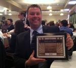 Jim Swalgen, Owner American Plumbing & Heating wins the Givers Gain Award