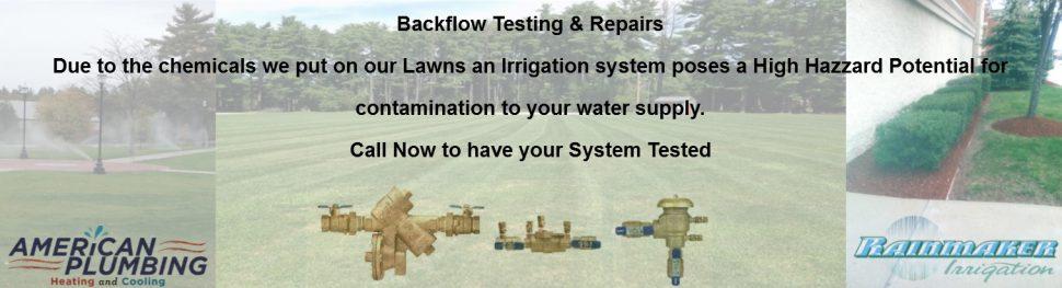 Backflow Testing